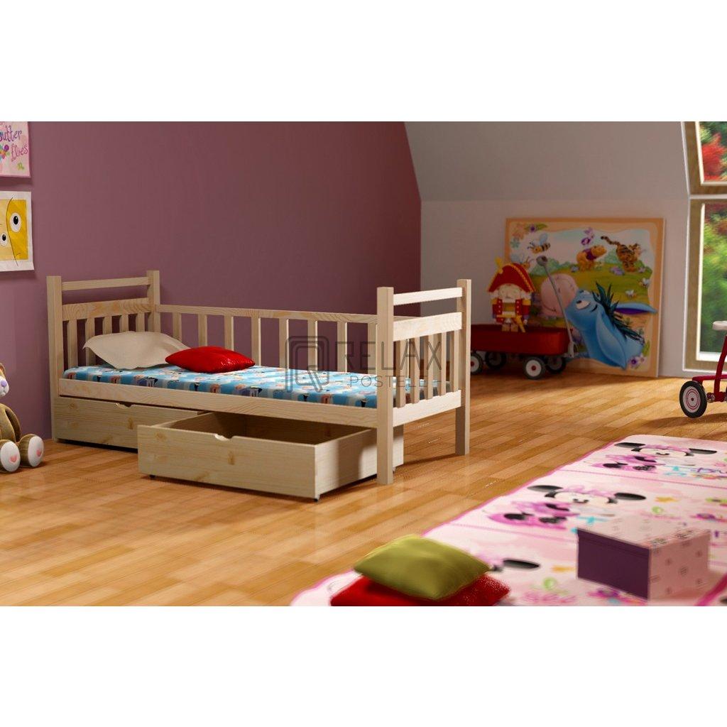 Dětská postel s úložným prostorem Natalia