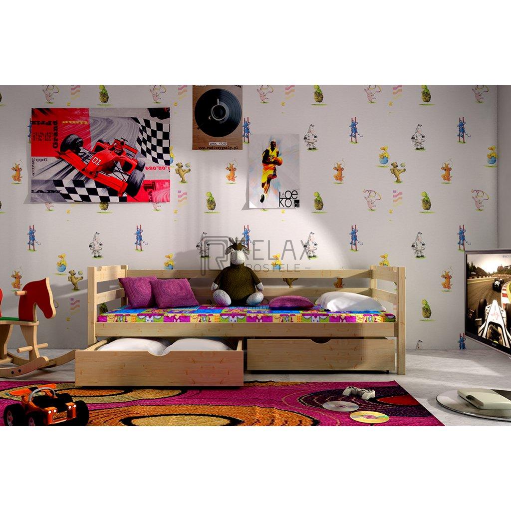 Dětská postel s úložným prostorem Elegant