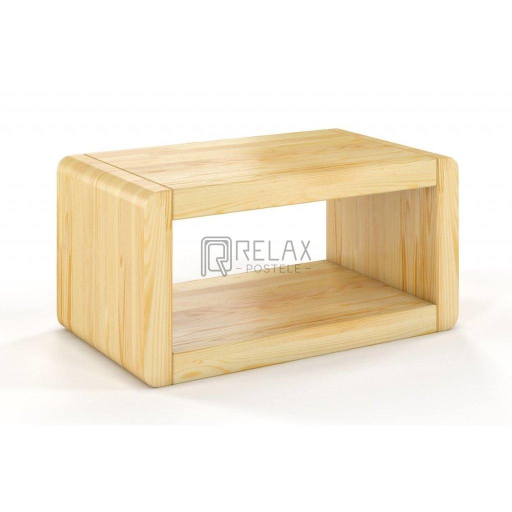 noční stolek z masivu borovice boverio borovice