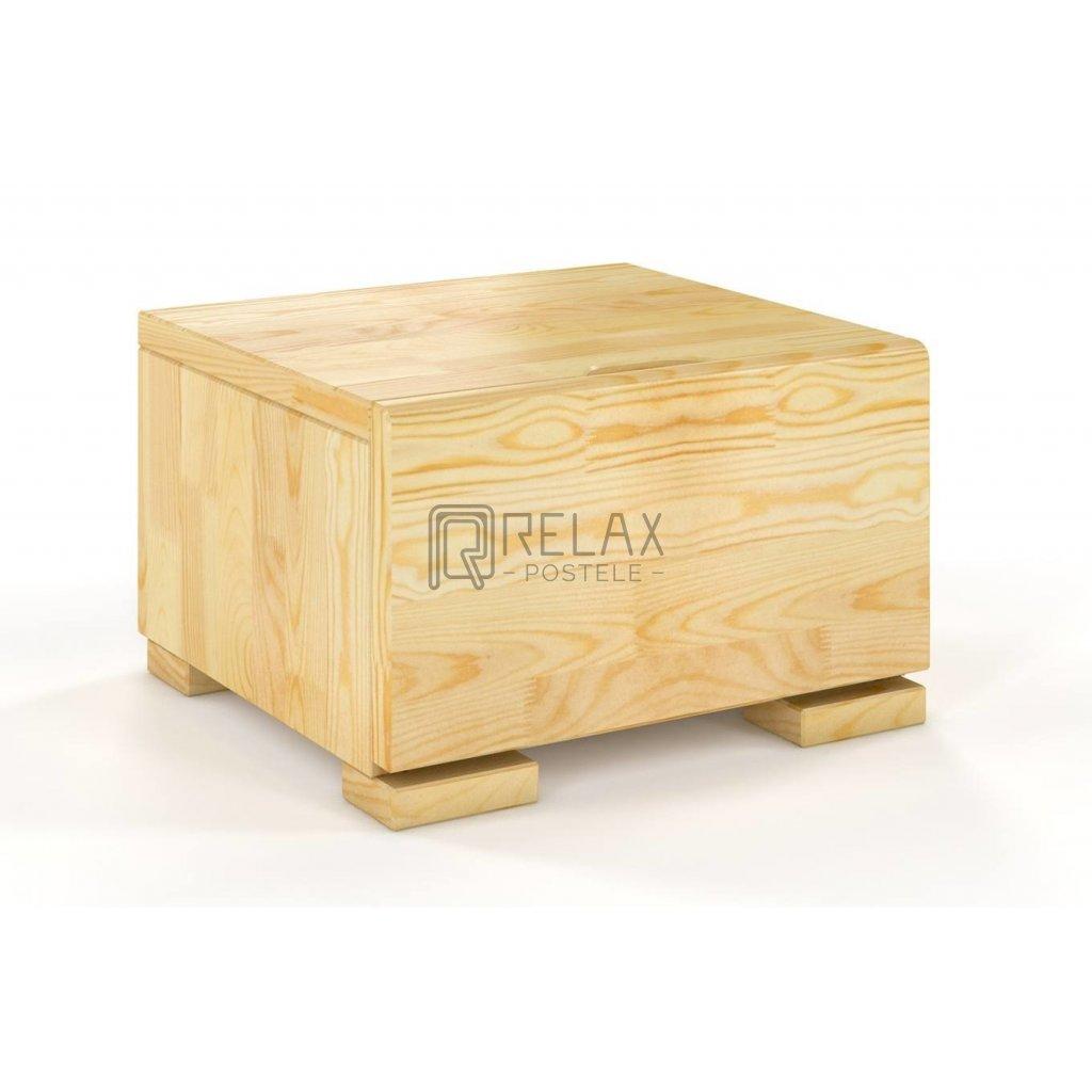 noční stolek z masivu borovice hessler borovice1