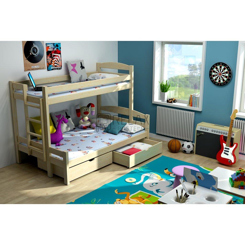 Patrová postel Sawana
