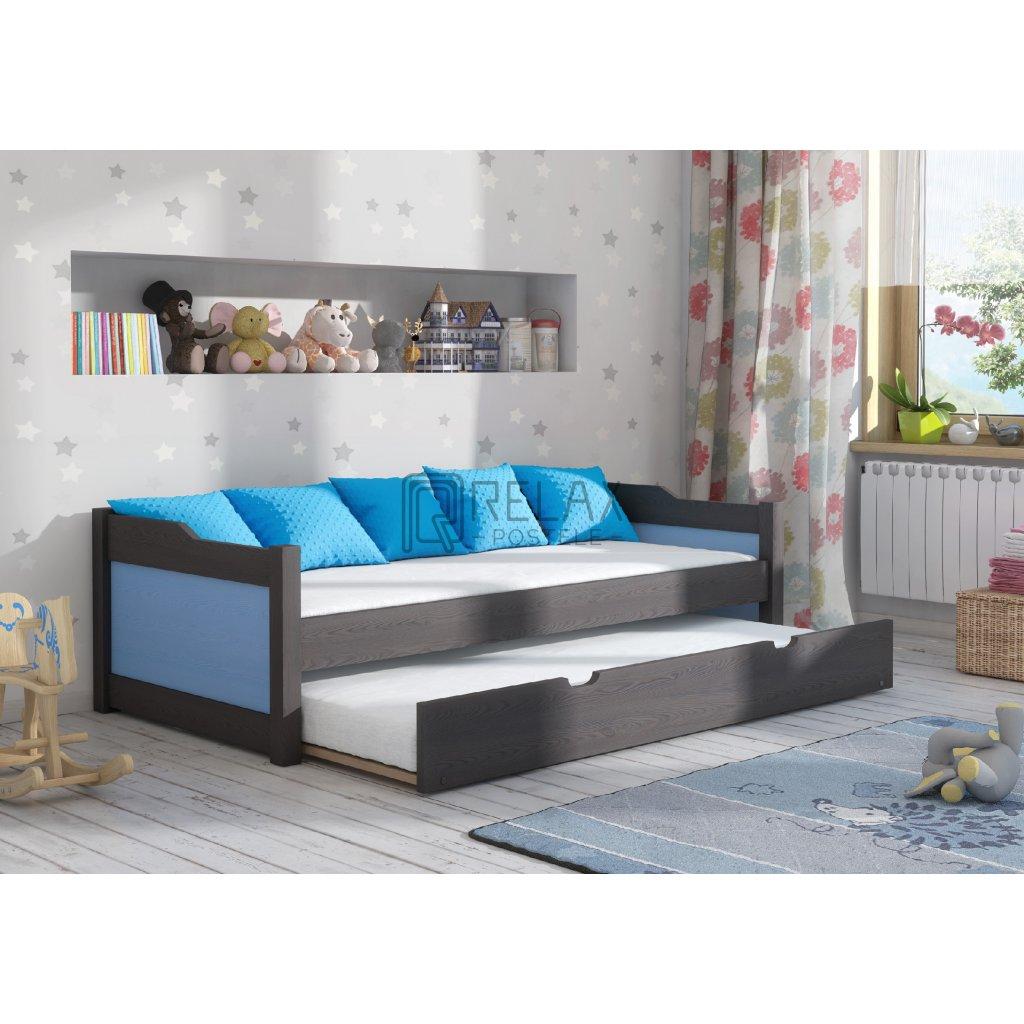 Dětská postel s přistýlkou Julka