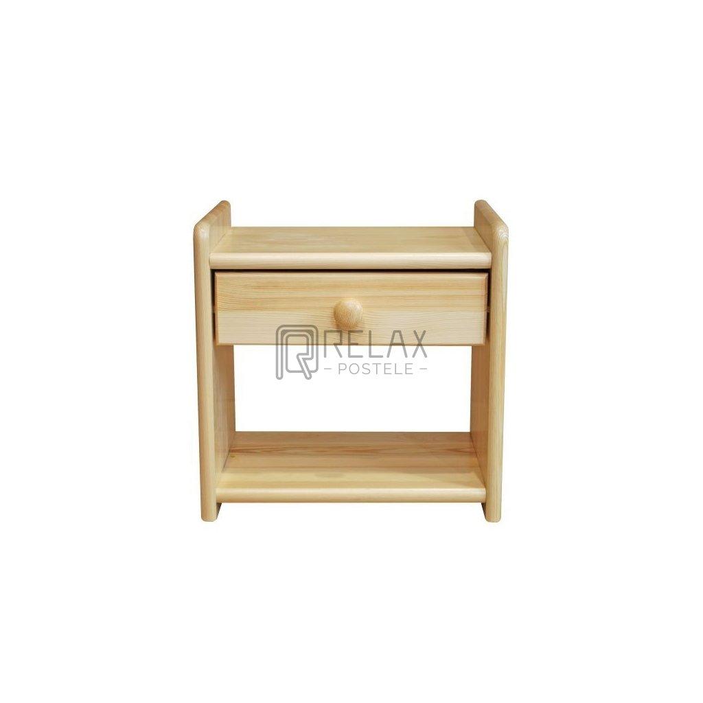 Noční stolek 219 - masiv borovice