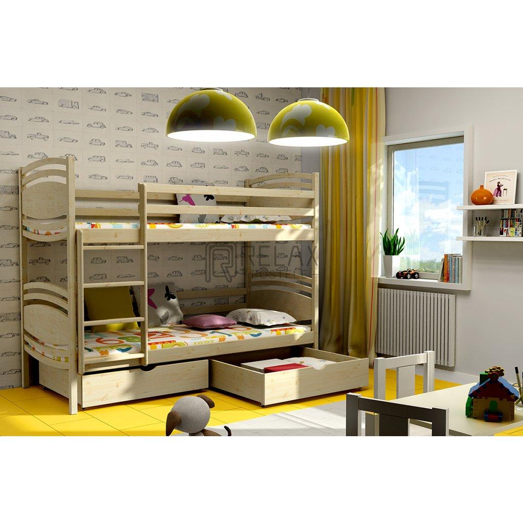 Patrová postel Tornádo