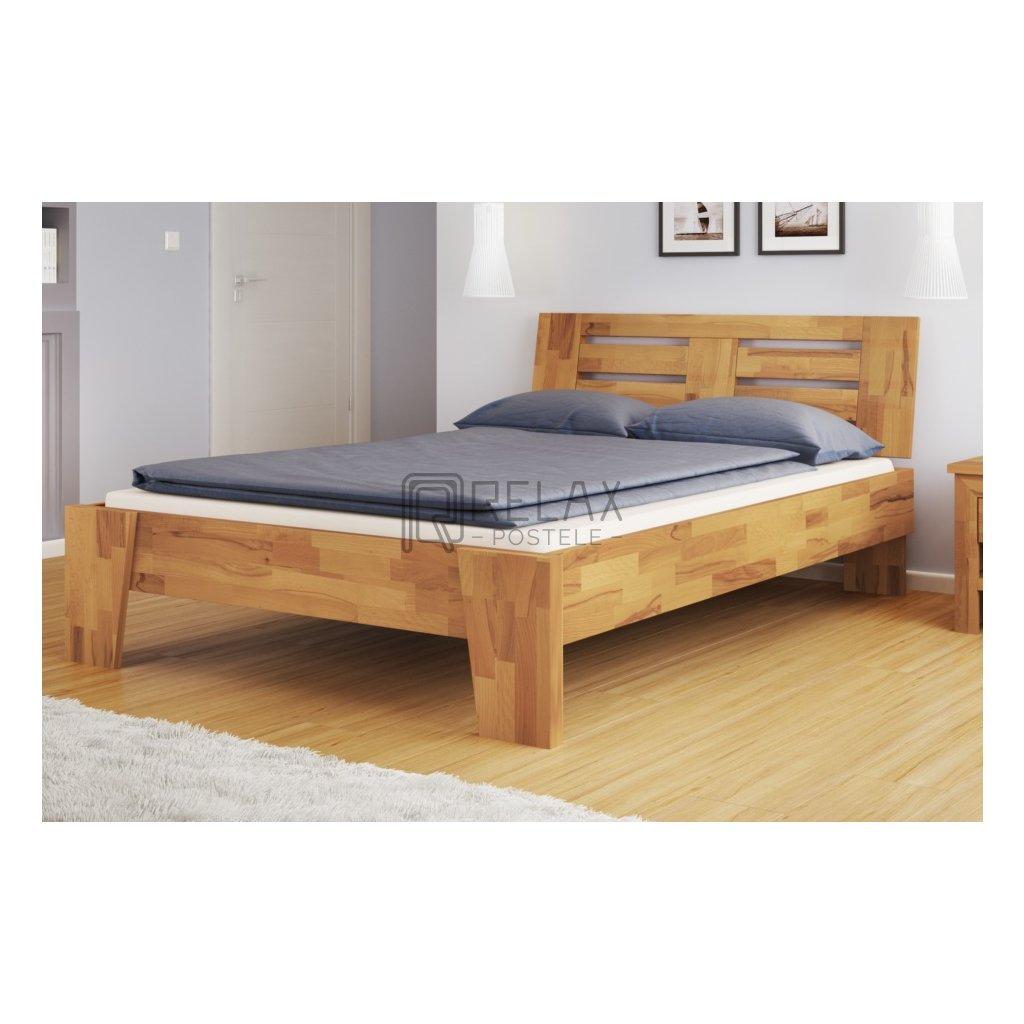 Buková manželská postel Verona