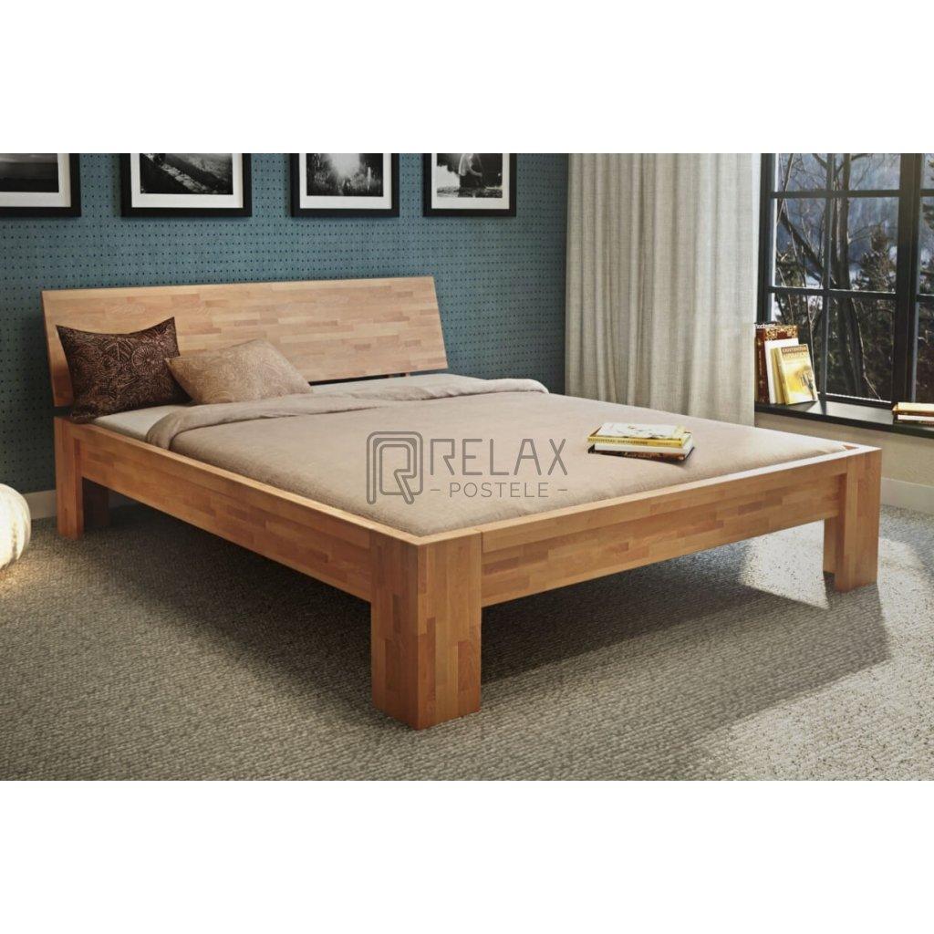 Buková manželská postel Calm