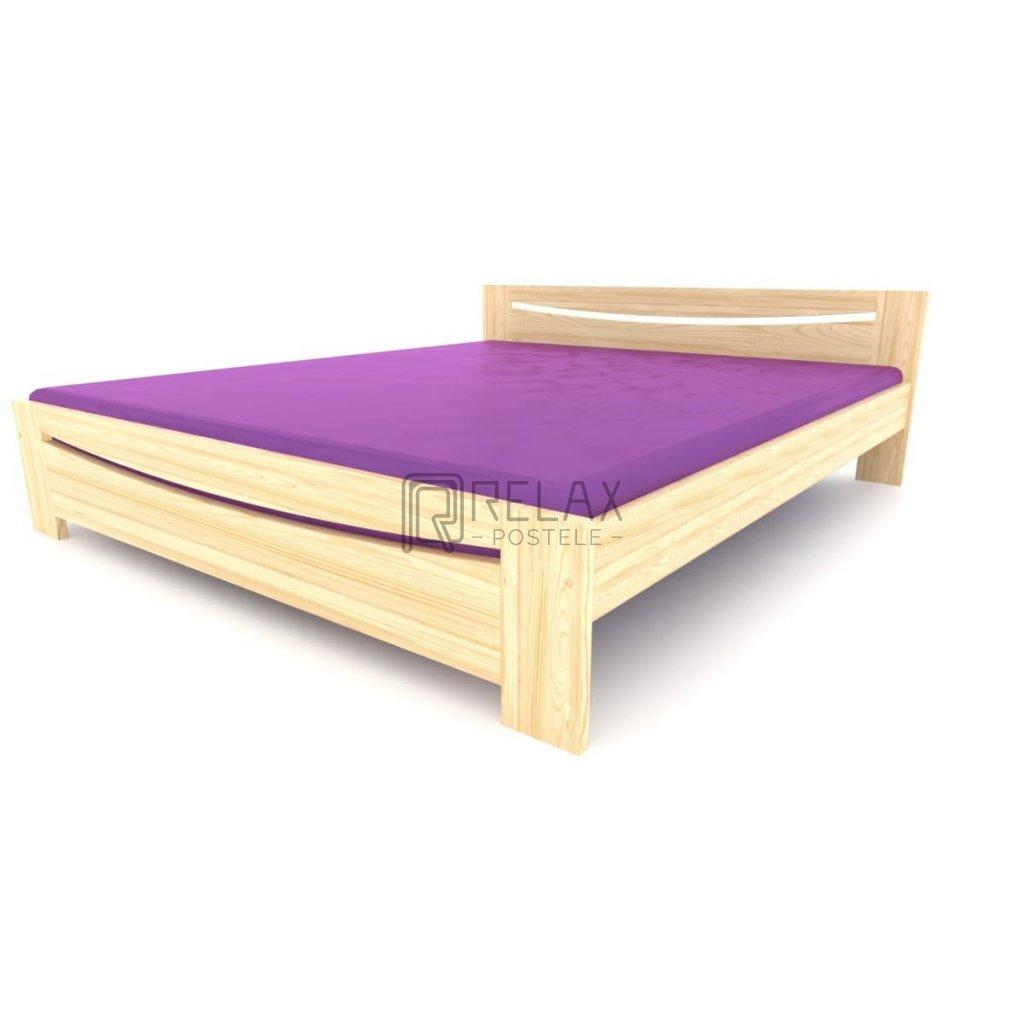manželská postel z masivu TK 03 (9)