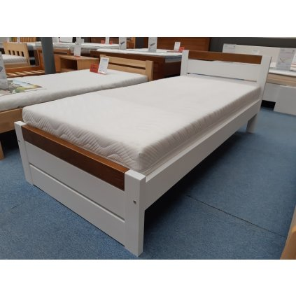 Dřevěná postel Ravona - 90x200 - borovice