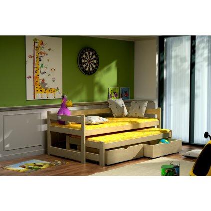 Dětská postel s přistýlkou Elegant 2