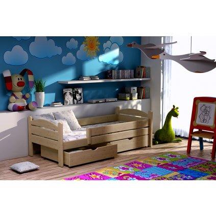 Dětská postel s úložným prostorem Ela