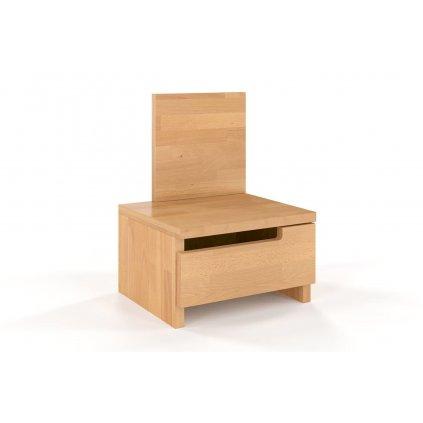 noční stolek z masivu buk Bergman buk1