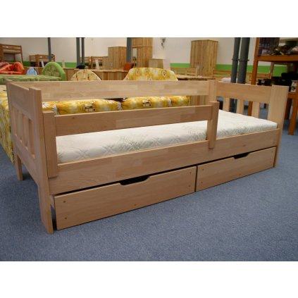 Zábrana na postel 120 buk cink (Moření HP Antracit)