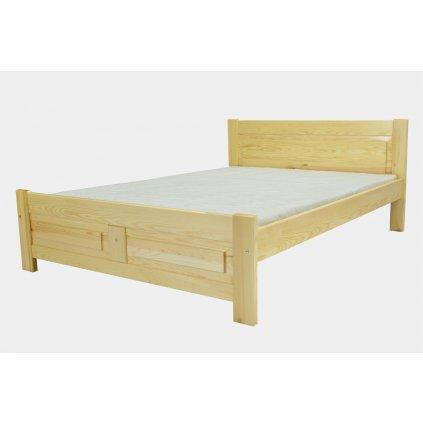 Manželská postel Elza - borovice