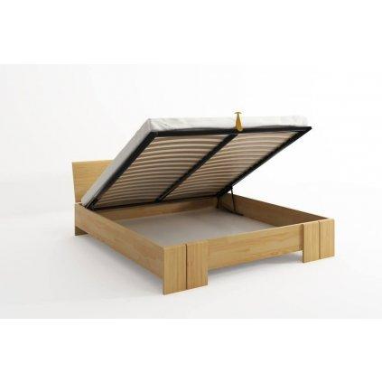 zvýšená postel vestre borovice up