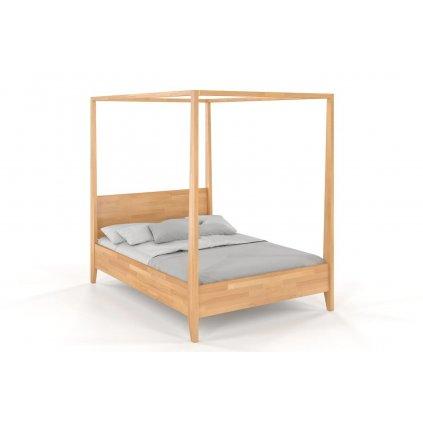 zvýšená postel canopy buk1