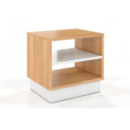 dřevěný noční stolek z masivu Finn 1