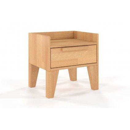 noční stolek z masivu buk agava buk2