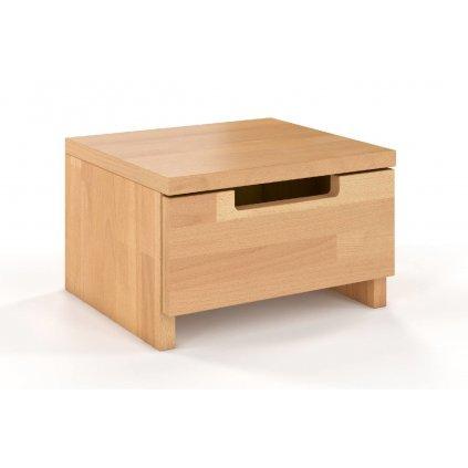 Noční stolek z masivu buk spektrum buk2