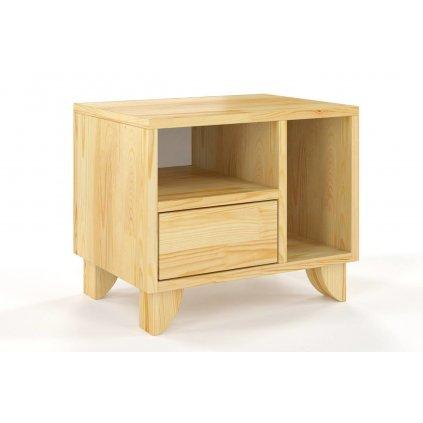 noční stolek z masivu borovice Viveca borovice1