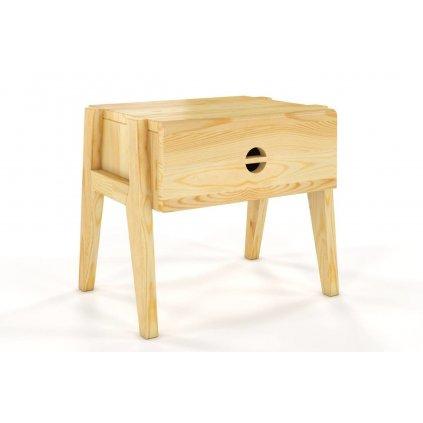 noční stolek z masivu borovice Radom borovice1