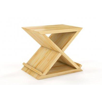 noční stolek z masivu borovice jarocin borovice
