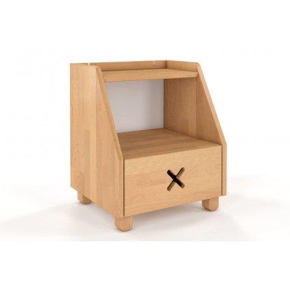 noční stolek z masivu buk Ustka buk4
