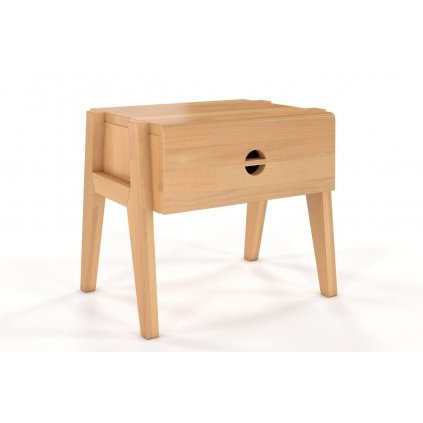 noční stolek z masivu buk Radom buk1
