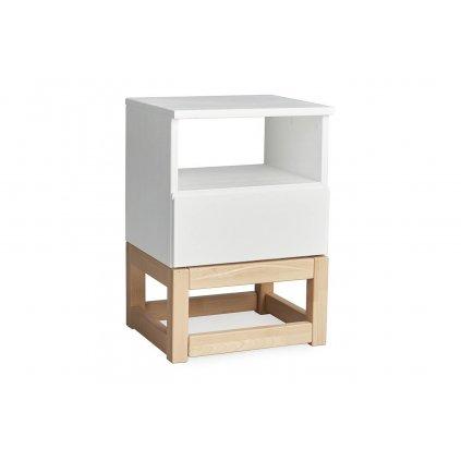 dřevěný noční stolek karin 1