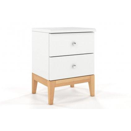 dřevěný noční stolek livia 1