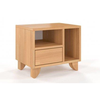 noční stolek z masivu buk Viveca buk1