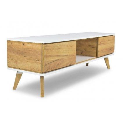 TV stolek Jorgen zlaty dub3