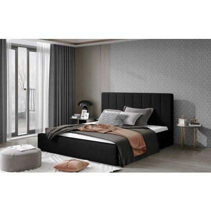 Čalouněná postel Audrey - Mat Velvet 99