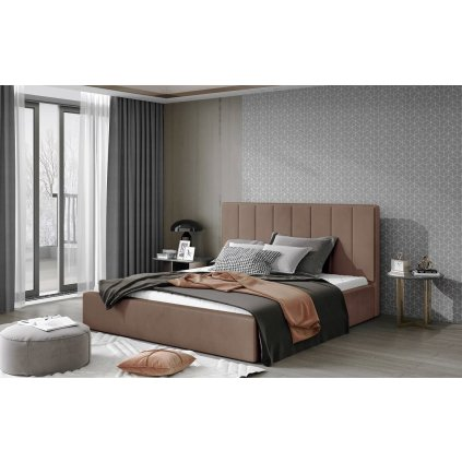 Čalouněná postel Audrey - Monolith 09