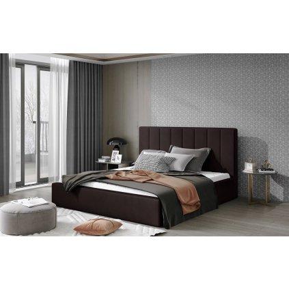 Čalouněná postel Audrey - Monolith 29
