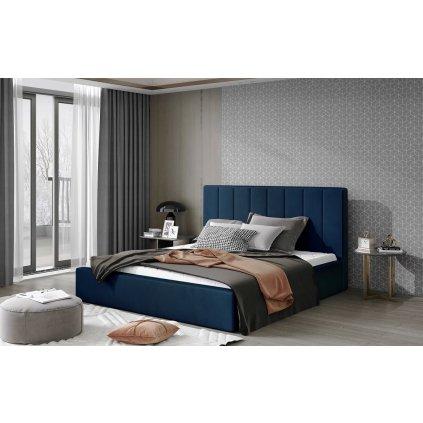 Čalouněná postel Audrey - Monolith 77