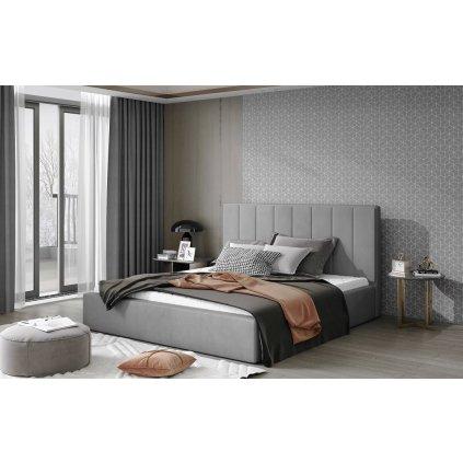 Čalouněná postel Audrey - Monolith 84