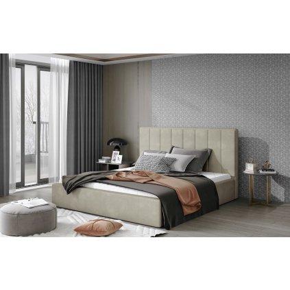 Čalouněná postel Audrey - Paros 02