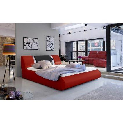 Čalouněná postel s úložným prostorem Flavio - Soft 10/11