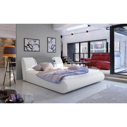 Čalouněná postel s úložným prostorem Flavio - Soft 17/985