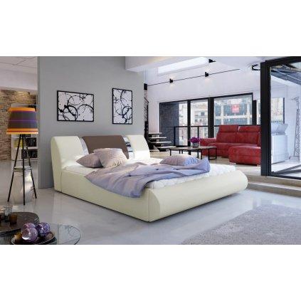 Čalouněná postel s úložným prostorem Flavio - Soft 33/929