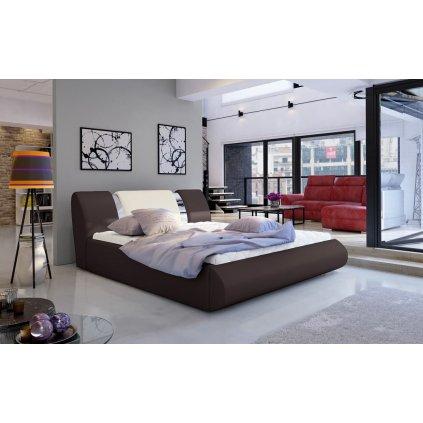 Čalouněná postel s úložným prostorem Flavio - Soft 66/33
