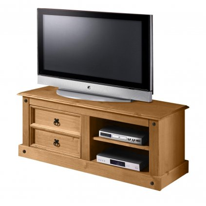 TV stolek Cora 2S - masiv borovice