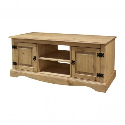 TV stolek Cora 2D - masiv borovice