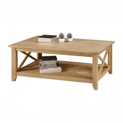 Konferenční stolek Cora - masiv borovice