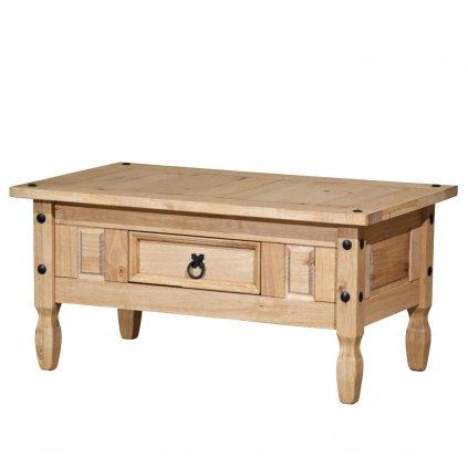 Konferenční stolek Cora 1S - masiv borovice