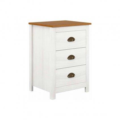 Noční stolek Topaz 3S - masiv borovice
