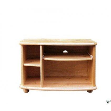 TV stolek 09 - masiv borovice