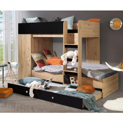 Patrová multifunkční postel Smart 2miniatura