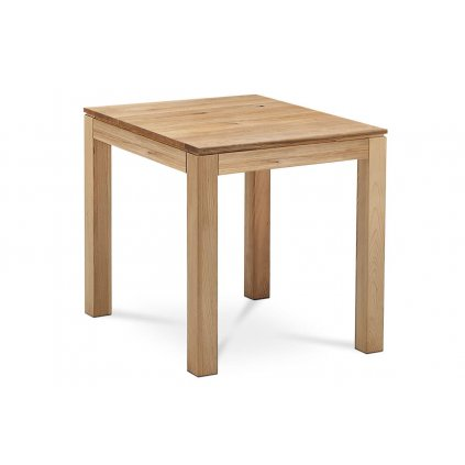 Jídelní stůl 80x80x75 cm - masiv dub