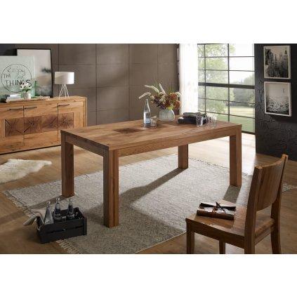 Dubový jídelní stůl Andromeda 160x90
